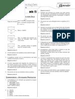 Química - Caderno de Resoluções - Apostila Volume 3 - Pré-Universitário - quim1 aula15