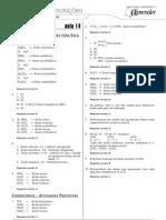 Química - Caderno de Resoluções - Apostila Volume 3 - Pré-Universitário - quim1 aula14