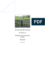 Thirty Five Years and Growing - A History of Community Gardening - Bur Ling Ton VT