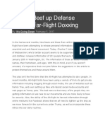 IGD Against Far Right Doxxing