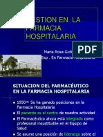 Gestion en Farmacia Hospitalaria