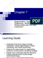 CH07 - Segmentation, Targeting, And Positioning