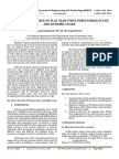 Seismic Performance of Flat Slab Structures Under Static and Dynamic Loads