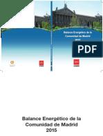 Balance Energetico de La Comunidad de Madrid Fenercom 2016.PDF