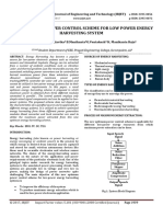 A New Optimum Power Control Scheme for Low Power Energy Harvesting System