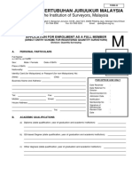 Direct Entry Form