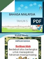 Bahasa Melayu Tahun 5- Kata Ganti Nama Diri Tanya