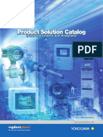 Product Solution Catalog (Field Instruments & Analyzers)
