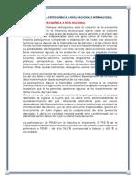 Importancia de La Petroquímica a Nivel Nacional e Internacional