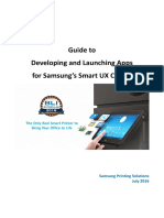Guide to Developing and Launching Apps for Samsung Smart UX Center(Ver1.0)