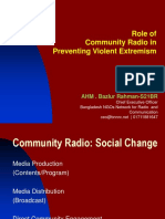 Role of Community Radio in CVE