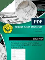 Presentasi Dinding Turap Kantilever