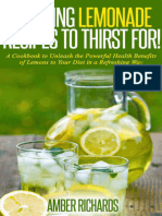 Amber Richards - Amazing Lemonade Recipes to Thirst For.epub