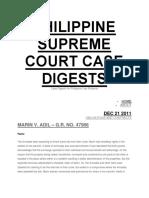 Sample Case Digest