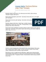 Motivator Indonesia Ippho Santosa Bahas Entrepreneurship