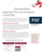 Standardized Approach for Counterparty Credit Risk