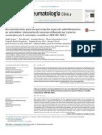 Guideline Administración Segura AINES
