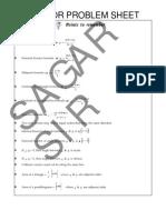 Vector Assignment by Sagar Sir