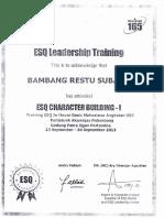 ESQ Training Leadership