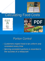 Calculating Food Cost