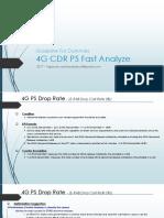 Huawei 4G - CDR PS Fast Analyze