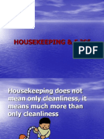 Housekeeping & 5 s A