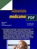 Alimentele Medicament
