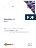CIPHER Briefing Patent Strength July20141