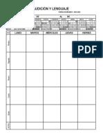 2015 2016 Planificador Semanal Profesores