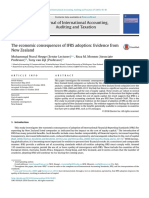 The Economic Consequences of IFRS Adoption