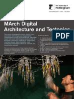 March Digital Arch Tectonics