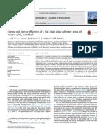 Energy and exergy efficiency of a flat plate solar collector using pH treated Al2O3 nanofluid