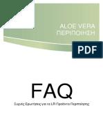 FAQ Aloe Vera Peripoiisi