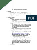 3rd grade instrument identification lesson plan