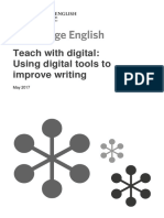 Using Digital Tools to Improve Writing