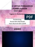 Penghasilan Video Pendidikan Menerusi Model ADDIE