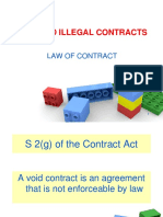 7.Void and Illegal Contract