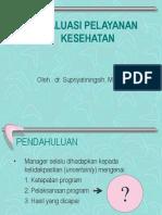 Evaluasi Pelayanan Kesehatan-kuliah