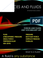Forces and Fluids