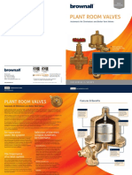 Brownall Plant Room Valves