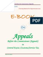 E-Book on Appeals Before the Commissioner (Appeals)