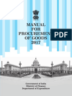 Manual for Procurement of Goods 2017-0-0