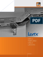 Catalogu Lenx Cable Trays and Cable Ledders 3