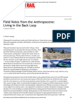 Field Notes from the Anthropocene- Living in the Back Loop | The Brooklyn Rail