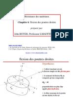 06 Flexion Des Poutres Droites