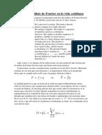 Jaime Carretero Sarmiento. Analisis de Fourier