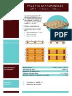 Fiche Specifique Cp - Péruréna palettes