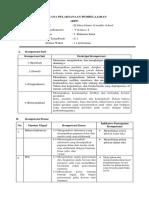 RPP Tematik 3 Kelas 5