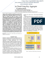 Data Sharing in Cloud Using Key Aggregate Cryptosystem