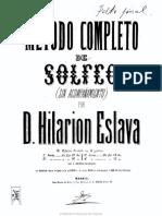 1856-Método Completo de Solfeo (Sin Acompañamiento)